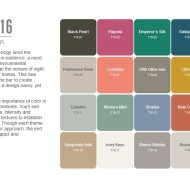 Põnev 2016: milliseid värvitoone eelistada sisekujunduses?